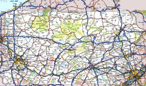 Road Maps Usa by Pennsylvania State Maps Usa Maps Of Pennsylvania Pa