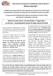 siege aphp ap hp hôpitaux de non au plan hirsch grève et