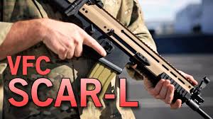 Tan And Tone Prices Vfc Scar L Mk16 Aeg 2 Tone Airsoft Rifle Crazy Black Friday