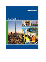 quality manual 1 quality management system iso 9000