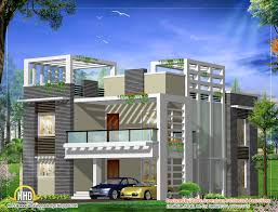 modern home design plan 2500 sq ft kerala home design and
