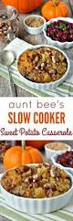favorite thanksgiving side dishes aunt bee u0027s slow cooker sweet potato casserole the seasoned mom
