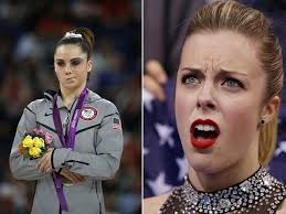 not impressed ashley wagner is the new mckayla maroney