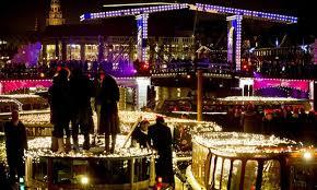 amsterdam light festival boat tour amsterdam light festival rock that boat groupon