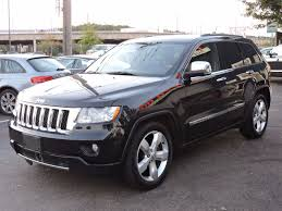 gray jeep grand cherokee with black rims used 2011 jeep grand cherokee overland at auto house usa saugus