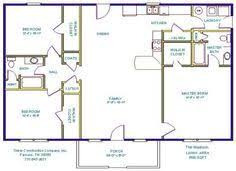 Ranch With Basement Floor Plans 24 X 48 Floor Plans 24 X 48 Approx 1152 Sq Ft 3 Bedrooms 2 Baths