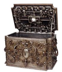 Home Decor Boxes Wrought Iron Chest From Eighteenth Century South Germany Eighteen