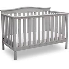 delta children independence 4 in 1 convertible crib rustic gray