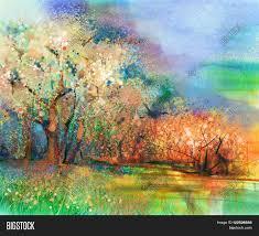 abstract colorful landscape image u0026 photo bigstock