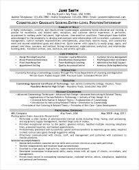 Cosmetologist Resume Template Cosmetology Resume 5 Free Word Pdf Documents Download Free