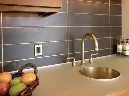 stacked kitchen backsplash charming grey color metal tile kitchen backsplash with stack bond