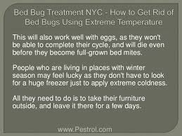 What Temperature Do Bed Bugs Die Bed Bug Treatment Nyc How To Get Rid Of Bed Bugs Using Extreme Temp U2026