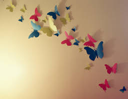 pretty paper butterfly wall decor pictures inspiration the wall
