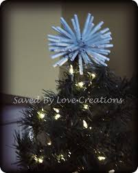 diy starburst christmas tree topper with free cricut svg file