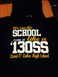high school senior t shirts senior shirts are in land o lakes high school