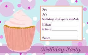 free birthday invitation template u2013 gangcraft net