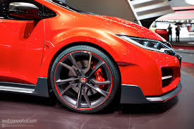 Honda Civic Type R Alloys For Sale Honda Summons Devilish New Civic Type R For The Road U0026 Track