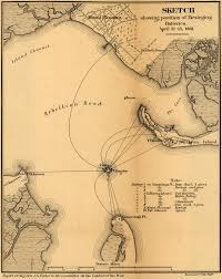 Virginia On The Map by Places In Civil War History Fort Sumter And Virginia Secession