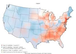 how do you say map in 22 maps that how speak totally differently