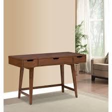 martha stewart living riley warm chestnut desk 9434400970 the