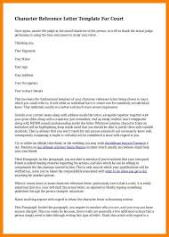 sample character reference letters for court lukex co