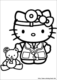 kitten coloring pages to print hello kitty coloring picture coloring pages pinterest hello