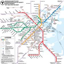 mbta boston map the science of a great subway map