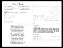 sle of wedding ceremony program graduation ceremony template endo re enhance dental co