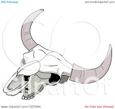 royalty free rf cow skull clipart illustrations vector graphics 1