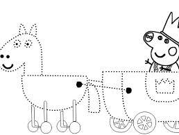peppa pig printable activities sketch coloring
