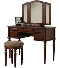 Espresso Vanity Table Amazon Com Acme 06552 2 Piece Annapolis Vanity Set Espresso
