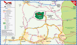 Map Of Pigeon Forge Tennessee by Directions And Map To Reach Foxfire Mountain Adventure Park