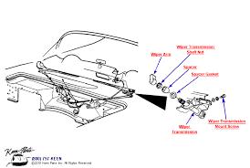 keen corvette 1953 2017 corvette wiper system parts parts accessories for