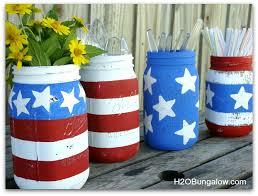 patriotic decorations patriotic jars h20bungalow