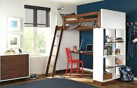 desk cottage colors gray twin full step loft with desk bunk beds
