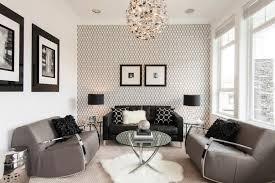 schwarz weiß wohnzimmer tapete in schwarz fürs wohnzimmer 25 ideen und beispiele