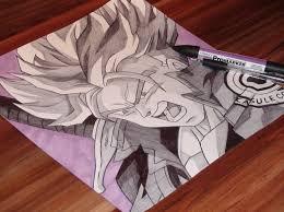 trunks drawing dragon ball demoose art