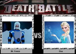 Mr Freeze Meme - death battle mr freeze vs elsa by maxed32 on deviantart