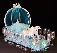 cinderella quinceanera ideas 21 cinderella toasting sets ts44 quinceanera party