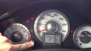 honda odyssey a1 service code reset maintenance light 2011 to 2013 honda pilot