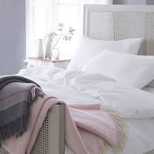 white seersucker bed linen