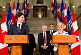 Cabinet Ministers Alberta Justin Trudeau U0027s U0027hands Across Canada Tour U0027 Lands In Alberta