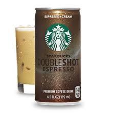 starbucks doubleshot vanilla light starbucks doubleshot espresso coffee drink can 12 x 200ml
