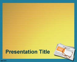 newspaper theme for ppt powerpoint template