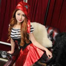 Pirates Caribbean Halloween Costume Taobao Female Pirates Popular Female Pirates