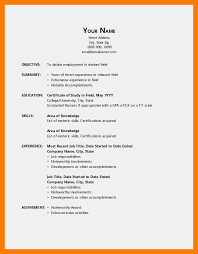 Office Templates Resume 11 Office Template Resume Xavierax