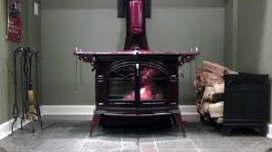 vermont castings defiant 2n1 wood stove youtube
