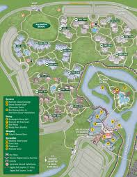 Downtown New Orleans Map by 2013 Port Orleans Riverside Guide Map Photo 3 Of 4