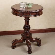 accent table for foyer cortona round pedestal table pedestal foyer furniture and
