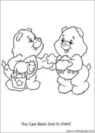 care bear cousins coloring pages google jolizas stuff